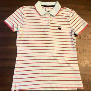 Brooks Brothers Boys Short Sleeve Pique Polo Slim
